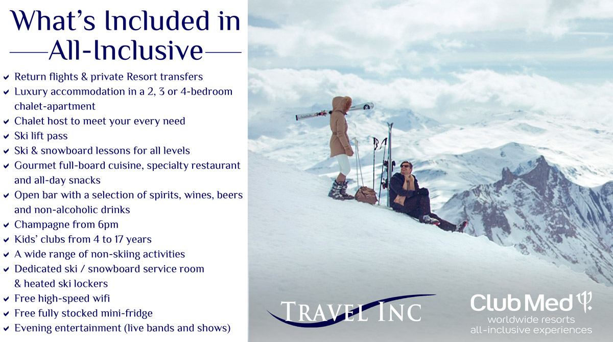 Club Med All-Inclusive Ski Packages