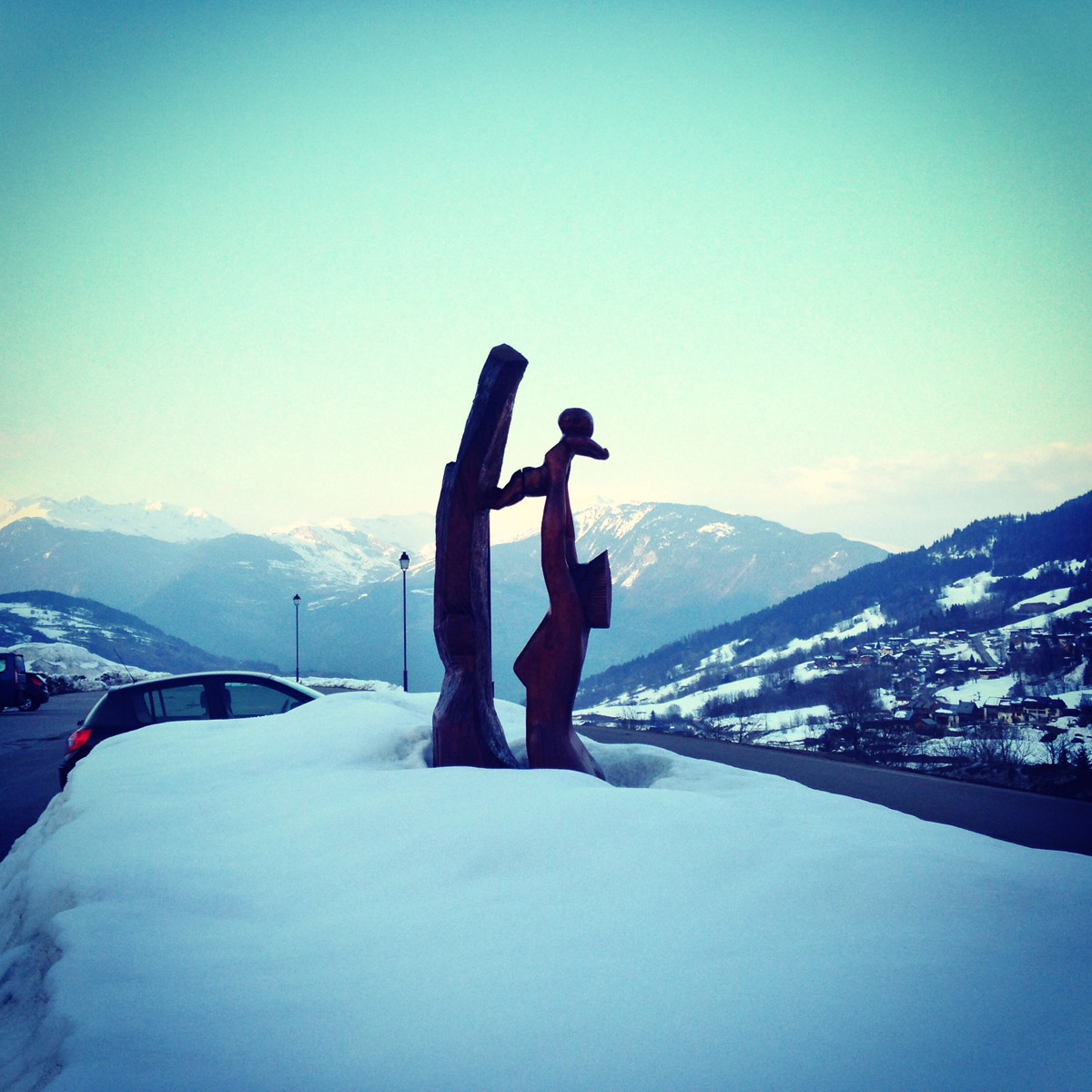 Club Med Valmorel - Beautiful Statues