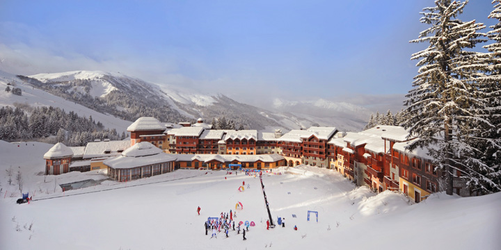 Club Med Valmorel - View from the Chalets