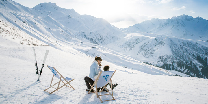 Club Med Valmorel - View from the Slopes